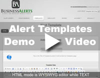 Alert Group Templates Demo Video