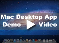 Desktop App Demo for Mac