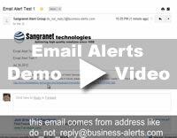 Email Notification Demo Video