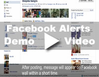 Facebook Message Demo Video