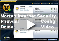 Norton Internet Security Firewall Config Video