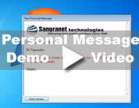 Desktop Alert Personal Message Feature Demo Video