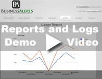 Desktop Alert Report Demo Video