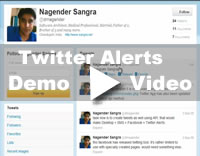 Twitter Tweets Demo Video